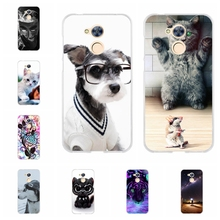 For Huawei Honor 6A Cover Slim Soft Silicone DLI-TL20 Phone Case Romantic Patterned Shell Bag