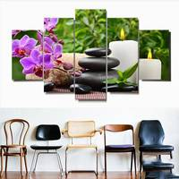 5 Piece Canvas Art Posters And Prints Vintage Picture Frames Paintings By Number Canvas Painting Calligraphy