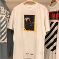 Off White T Shirt Kanye West Hipster Mens Casual 1:1 High Quality Justin Bieber T-Shirt Religion Jesus T-Shirt Off White Tshirt