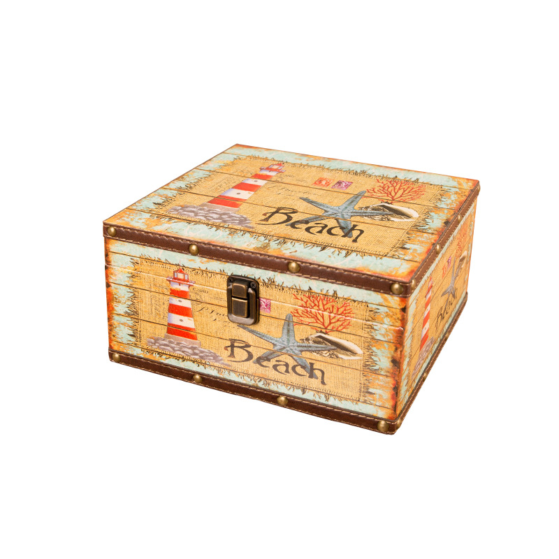 European Retro British Rice Word Flag Storage Box Decoration Wooden Jewelry Box Document Storage Home Creative Decor AccessoriesEuropean Retro British Rice Word Flag Storage Box Decoration Wooden Jewelry Box Document Storage Home Creative Decor Accessories