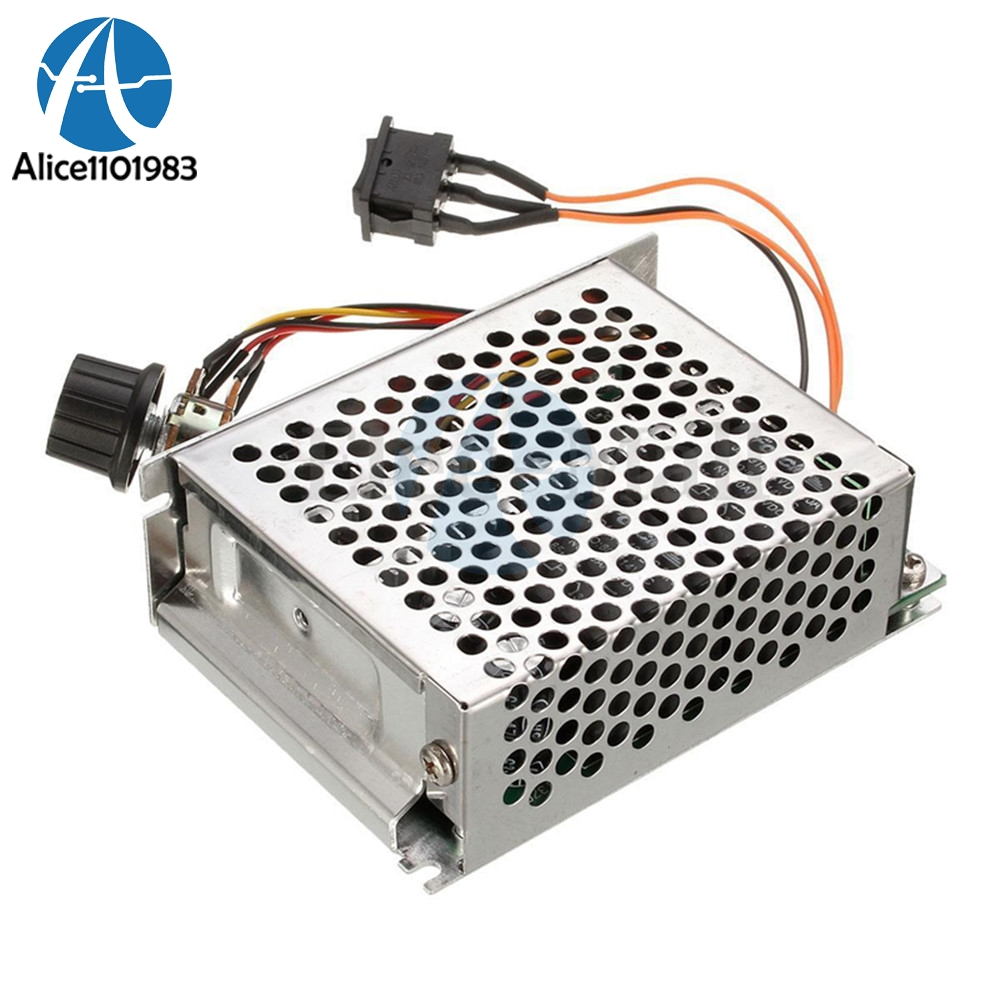 Dc 10-50v 40a Motor Speed Controller Pwm Motor 12v/24v/36v/48v Inverted Switch 10v-50v Cw Ccw Reversible Pulse Driver To Be Highly Praised And Appreciated By The Consuming Public Active Components