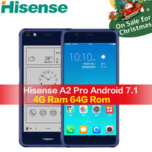 Hisense A2 Pro mobile phone 4G 64G NFC fingerprint telefon snapdragon 625 android smartphone 4G Lte