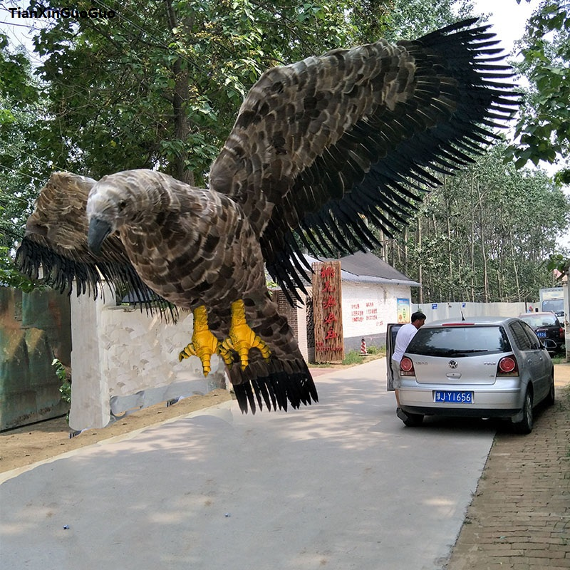 simulation feathers bird large 80x150cm simulation eagle bird spreading wings hard model,home garden decoration gift s1184 simulation owl toy black feathers night owl bird large 34cm hard model home decoration birthday gift h1150