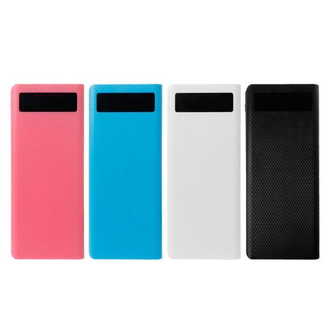 Double USB QC3.0 8x18650 batterie batterie batterie boîte 18650 chargeur de batterie étui pour iPhone Xiaomi téléphone portable tablette chargeur rapide