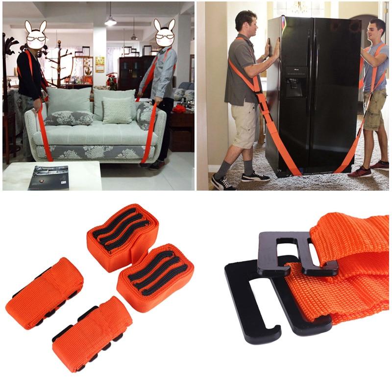 2.7m Heavy Furniture Forearm Forklift Lifting Moving Straps Cradle Belt Shoulder Aid 2017 new lifting moving strap furniture transport belt in wrist straps team straps mover easier conveying belt orange