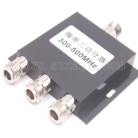 RF Coaxial Splitter 1 To 3 Way Power Splitter 300 500MHz Signal Booster Divider N Female