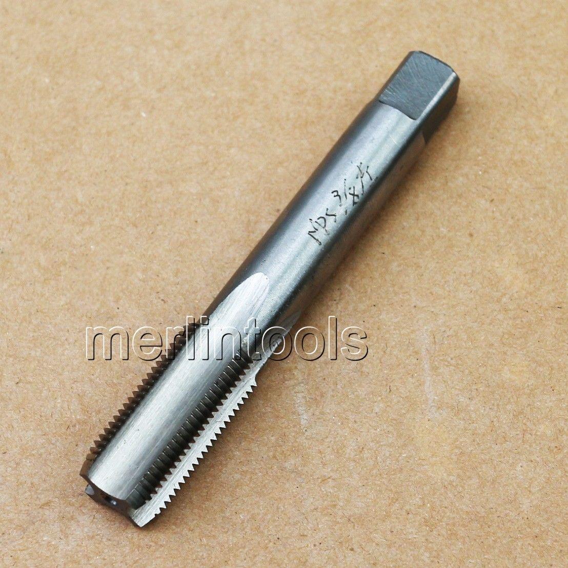 3/8 - 18 NPS Straight Pipe HSS Left hand Tap 3/8 - 18 TPI 18 8 9cm