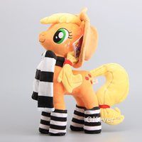 Anime Cartoon 6 Styels Cute Horses Apple Jack Rainbow Dash Twilight Sparkle Rarity Soft Push Toy