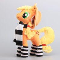 Hot Sale Horses Apple Jack Rainbow Dash Twilight Sparkle Rarity Soft Push Toy Dolls Stuffed Animals 38 40 CM