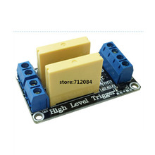 2 channel solid state relay module High level 5A trigger DC