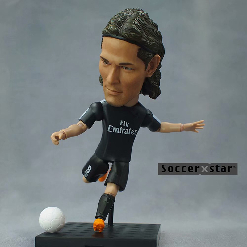 Soccerwe 4.72 12 cm Star Edison Cavani Doll (PS 9#) Soccer Star Figurine as PhotoSoccerwe 4.72 12 cm Star Edison Cavani Doll (PS 9#) Soccer Star Figurine as Photo
