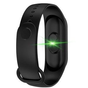 Image 2 - Cyfrowy zegarek mężczyźni lub kobiety inteligentny zegarek tętna krwi PressureSleep monitora krokomierz połączenia Bluetooth Smart band