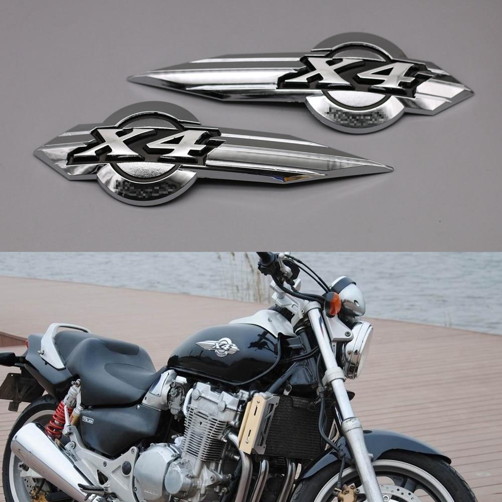 For Suzuki Boulevard Motorcycle Fuel Tank Emblem Badge Chrome ABS Decal Sticker