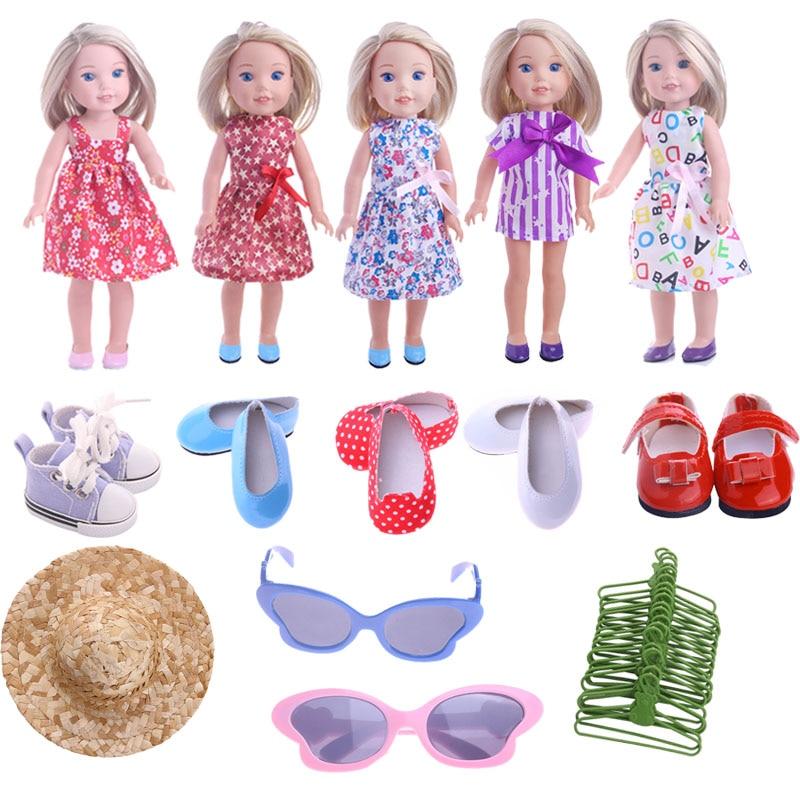 Кукла, одежда, обувь, солнцезащитные очки, шляпа, аксессуары для поколения 14,5 дюймов, Валли, кукла для поколения, игрушки для девочек