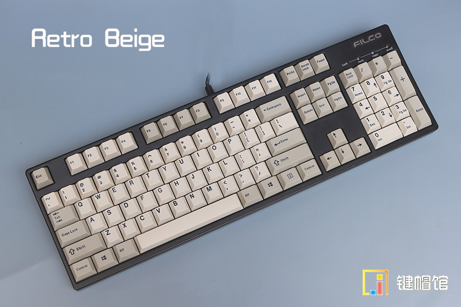Retro beige keycaps mechanical keyboard keys thick PBT keycap top print cherry mx height poker ANSI 104 keycaps h1z1 battle royale game keycap r4 height alloy full metal keyboard keycaps for cherry mx switches teclado mecanico keycaps