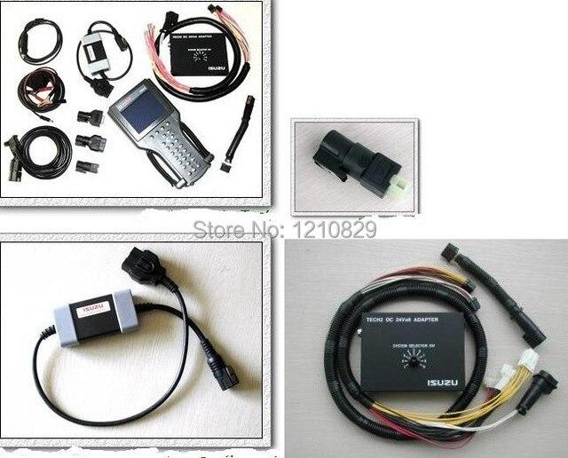 Tech 2 Tech ii for Isuzu cars with both DC 24Volt ISUZU Adapters