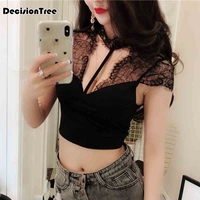 2019 summer women sleeveless sling vest daily top wrapped chest fitness stretch rank top cropped fitness femme camisole