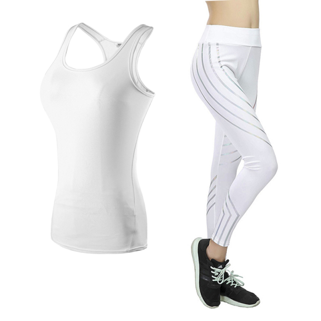 2 Pieces Women Sportswear Yoga Set