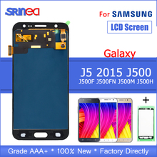 Get more info on the J500 100% Tested LCD For SAMSUNG J5 2015 Display J500F J500FN J500M J500H Display Touch Screen Digitizer With Adhesive Tape