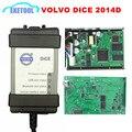 2014D Para Automóveis Volvo Vida Dice Diagnóstico profissional Power Interface Para VOLVO VIda Dice Chip de Atualização de Firmware Completo DHL Livre