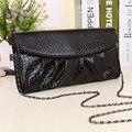 2016 Fashion Women Snakeskin Messenger Bags Women Handbags PU Leather Clutch Bags Chain Shoulder Bags Purses  Snakeskin Handbags