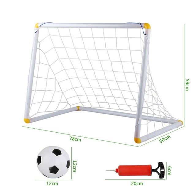 Дети открытый игрушки Футбол двери/футбол дверь ворота игрушки надувной мяч мальчик в помещении игрушки