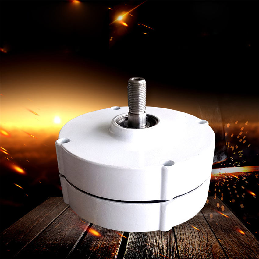 New Three-phase AC Permanent Magnet Generator NE-400W Wind Power Alternator Wind Turbine Generator 12V/24V 950r/min IP55 16MM