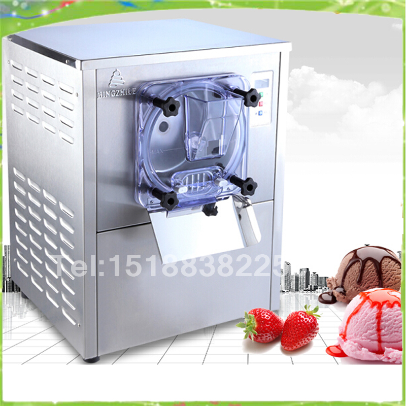 Commercial Hard Ice Cream Machine 20L/h Stainless Steel Ice Cream Maker 1400w 220V/50Hz