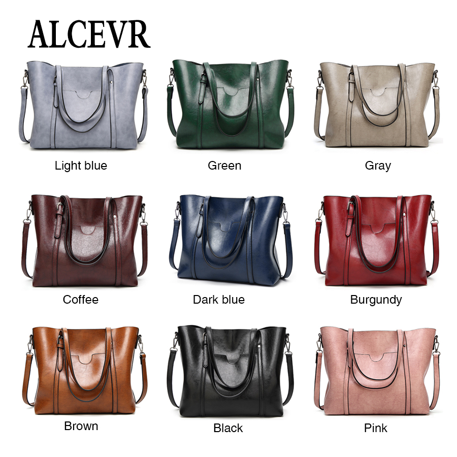 A gray Di Del burgundy Alta Borse blue Pelle Tracolla Dell'annata Delle In brown blue coffee Progettista Capacità Morbida dark Donne green light Tote Borsa light Famosa Black Alcevr Marca Presa pink Lusso wqB8ZBAE