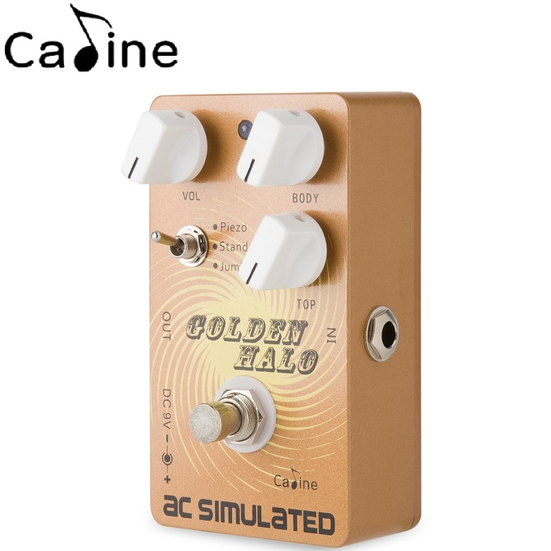 Caline Cp 35 Ac Simulated Guitar Effect Pedals Acoustic Effects
