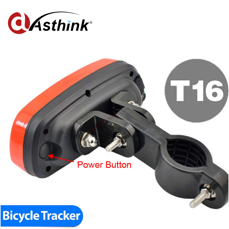 2015 Top Sale Waterproof gps tracking Bike Device to track and secure your bike spylamp and