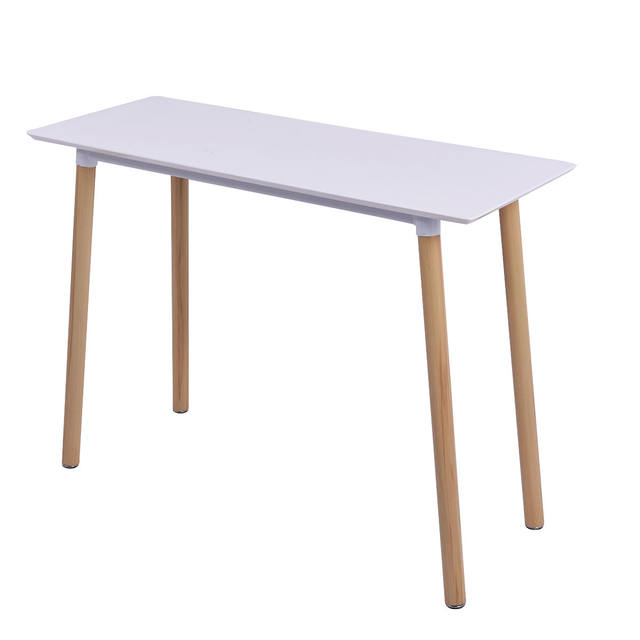 Giantex White Writing Desk Modern Computer Table Home Office Furniture Workstation Learning Tables Hw54027