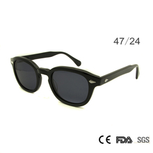 Ретро Винтажные Солнцезащитные очки моды мужской круглой формы Джонни Депп заклепки солнцезащитные очки для мужчин Брендовая Дизайнерская обувь очки UV400 очки