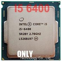Ücretsiz kargo Intel Core I5-6400 i5 6400 FC-LGA14C 2.70 Ghz 6 M İşlemci önbellek 4 LGA 1151 HD530 desteği bellek DDR3L ve