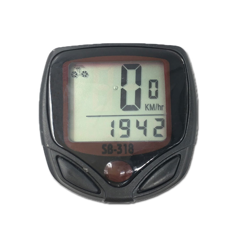 15-Functions Bicycle Computer Waterproof Riding Digital LCD Display Bike Bicycle Odometer Speedometer Cycling SpeedMeter