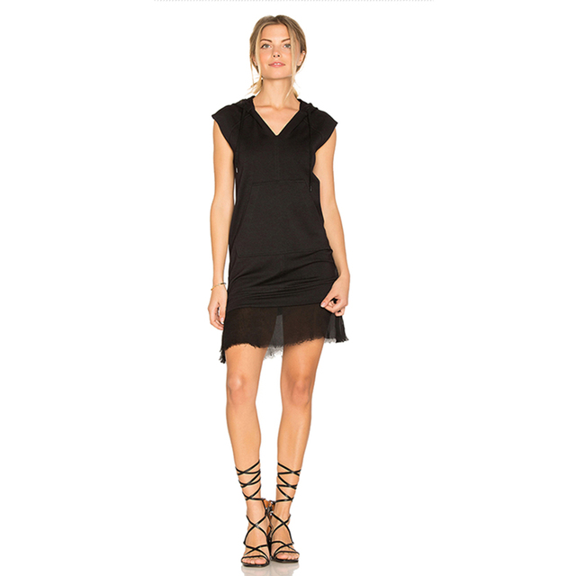 06dbfb62f341a Cute Vest Dress womanBlack Bandage Sleeveless Party Hoodies Lace Chiffon  Tumblr Colete Feminino Rompers Womens Clothes 60A023