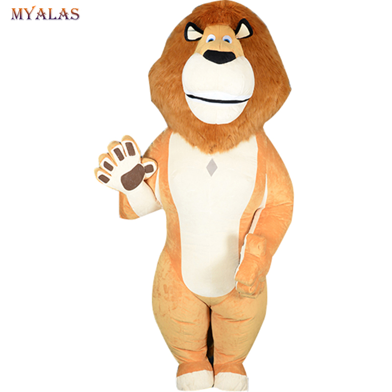 Purim Lion Inflatable Cosplay Costume Lion Animal Mascot Costume For Advertising For Adults Customize Suitable For 1.7 to 1.9m
