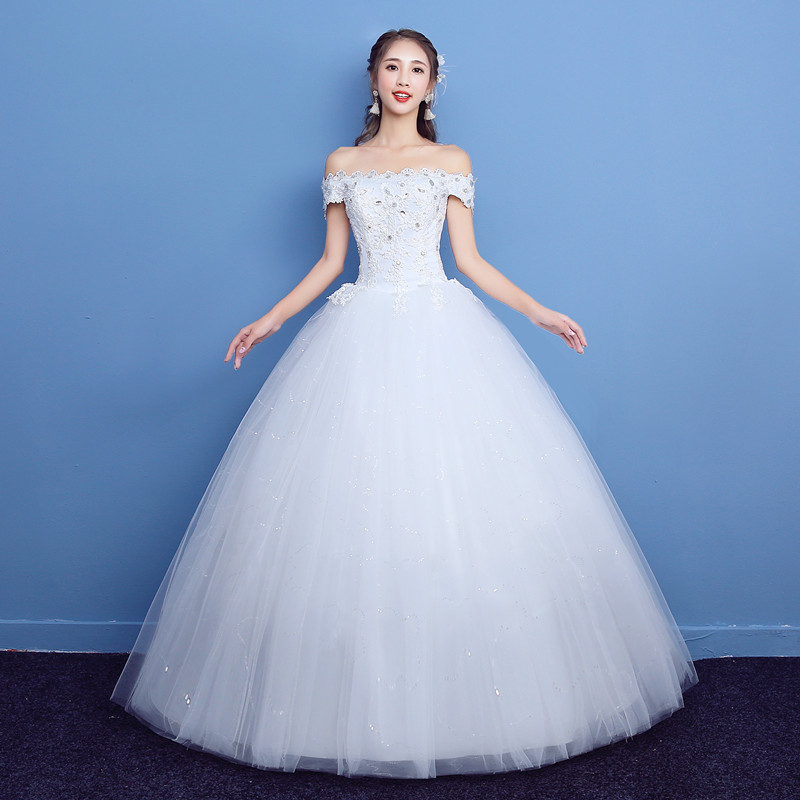 Plus Size Lace Wedding Dress Spring 2018