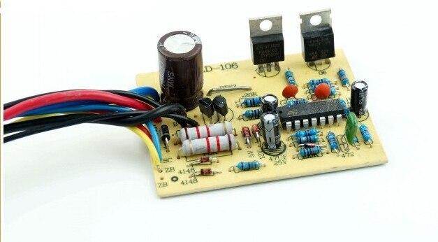 Электрический автомобиль контроллер щетка датчик/12 В/24 В/36 В 250 Вт регулятор скорости двигателя/ интеллектуальный контроллер