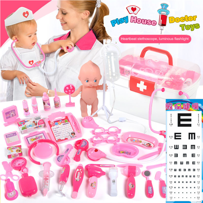 Children's doctor toy Nurse Clothes Doct