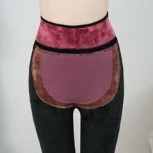 Leggings Women's A230 Autumn Winter Magnetic Therapy Infrared Warm Womb Health Nursing Waist Plus Velvet Thick Legging