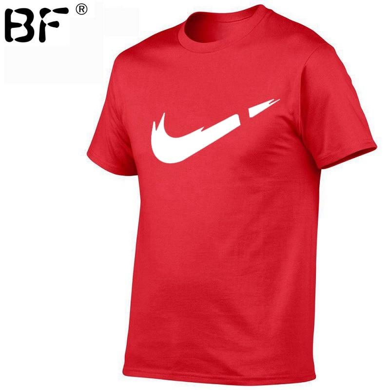 Newest 2018 Summer Men   T  -  shirt   Fashion Brand Logo Print Cotton   T     shirt   Men Trend Casual Short sleeve Tshirt Tops tee