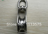M75 750kgs גלגלת גלגלת בלוק הכתר רולר 304 נירוסטה מכירה ישירה במפעל כל מיני סוגים של הנהיגה גלגלת