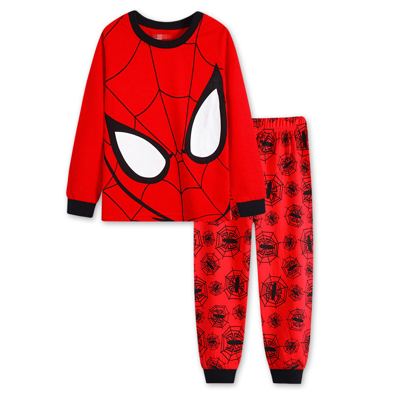 Baby Boys Clothes Sets Children 2017 New Long Sleeve Spiderman T shirt +Pants 2Pcs Suits For Boy Clothing Cotton Kids Pajamas children s suit baby boy clothes set cotton long sleeve sets for newborn baby boys outfits baby girl clothing kids suits pajamas