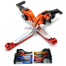 High Quality Motorbike Accessories Levers Foldable Extendable Motorcycle Brake Clutch For Honda CBF1000 2006-2009