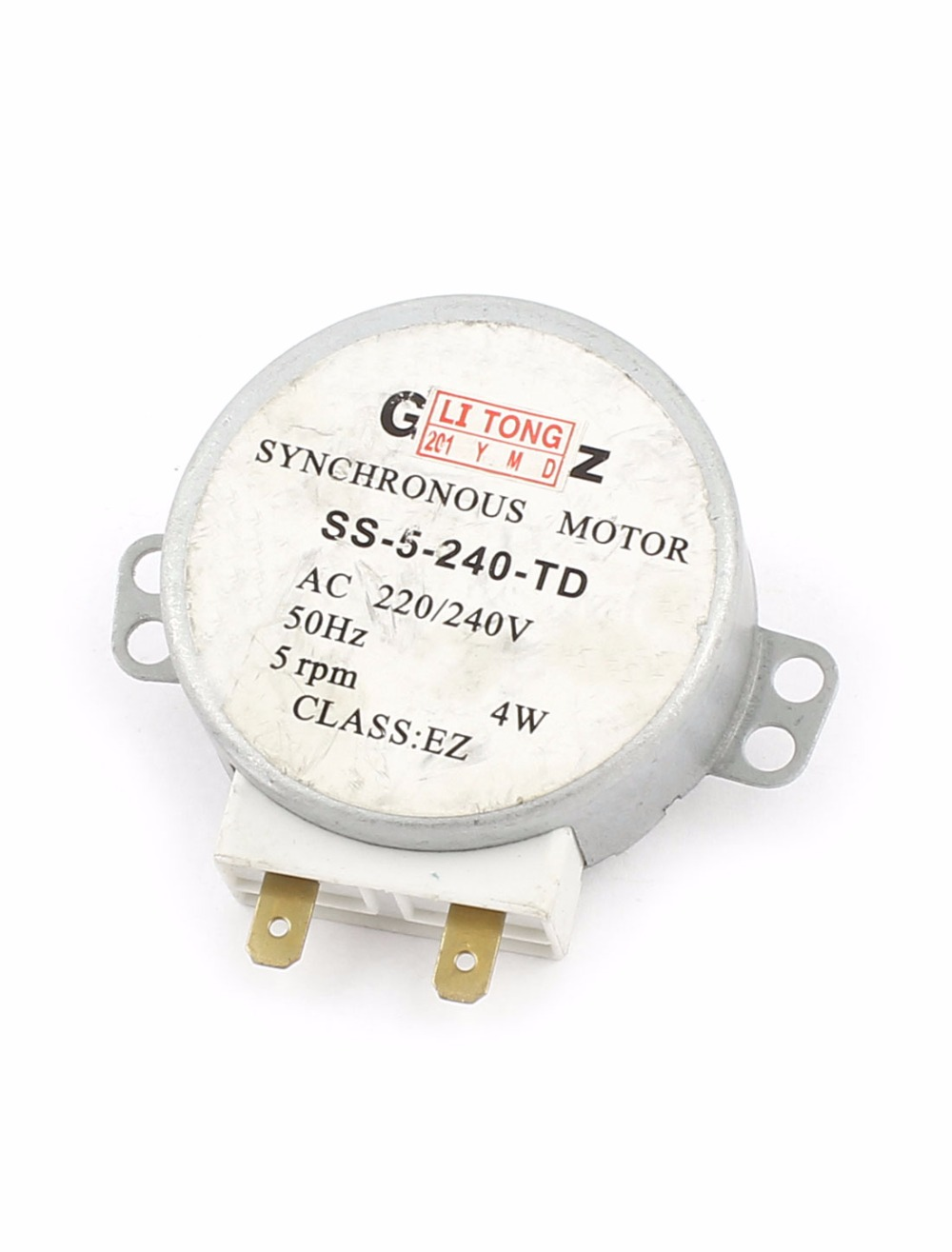 UXCELL Hot Sale 1Pcs AC 220/240V Microwave Oven Turntable Synchronous Motor 4W 5RPM lowell настенные часы lowell 14949r коллекция настенные часы