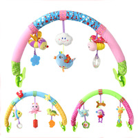 Baby Hanging Toys Stroller Bed Crib For Tots Cots Rattles Seat Cute Plush Stroller Mobile Gifts Rattles