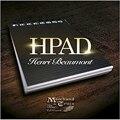 Блокнот HPad от Анри Бомон (DVD с трюком), волшебный трюк, блокнот A7, Волшебный реквизит, магический реквизит для сцены в уличном стиле