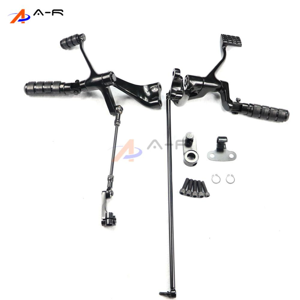 Footpegs Lever Pegs Linkage Footrest Brake Shift Assembly