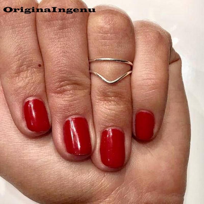 Grillz Jewelry izable Handmade Adjustable Exquisite Chevron Toe Ring 15mm Hoop Rings for Women Foot Jewelry-5